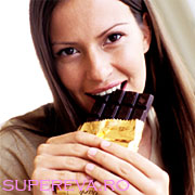 Ciocolata neagra este buna pentru inima