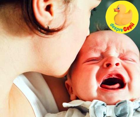 Colicile bebelusului si alimentatia mamei