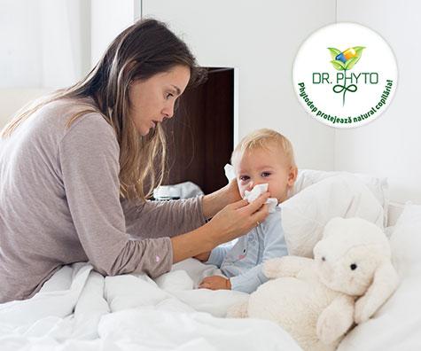 Complicatii dupa virozele respiratorii la copii