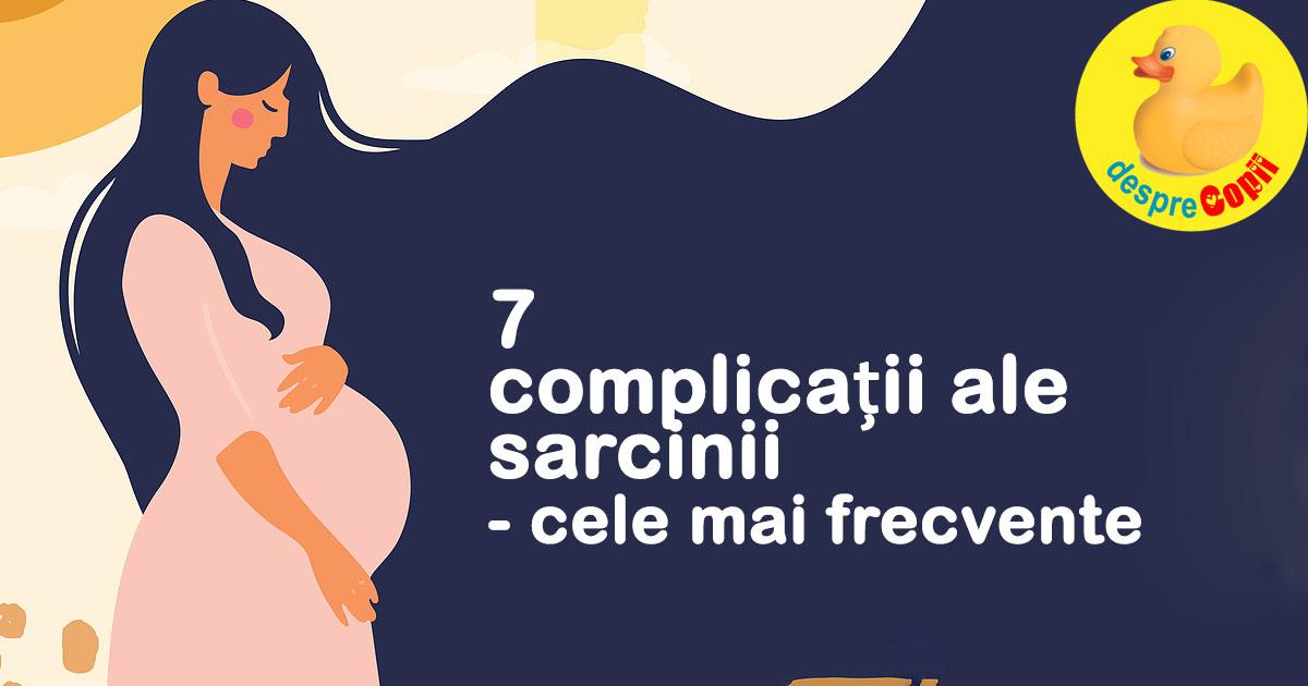 7 complicatii ale sarcinii explicate de medicul ginecolog