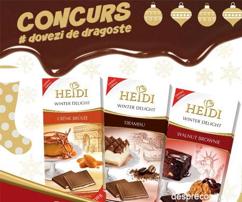 Dovezi de dragoste cu Heidi - Concurs