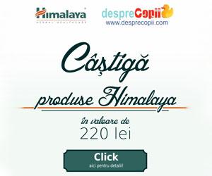 Castiga produse Himalaya in valoare de 220 lei!
