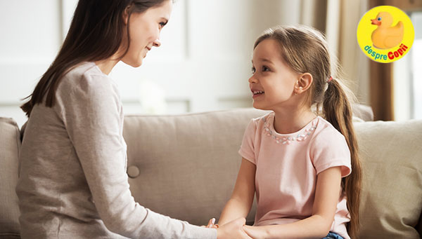 Cum ii facem pe copii sa ni se destainuie cu incredere