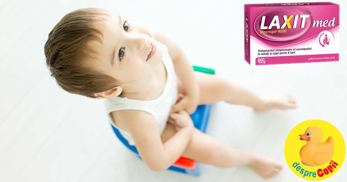 Constipatia la copii: cauze si cum ne putem ajuta copilul - sfaturi si remedii