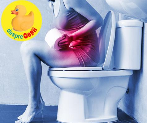 Constipatia dupa nastere: cauze si ce e de facut