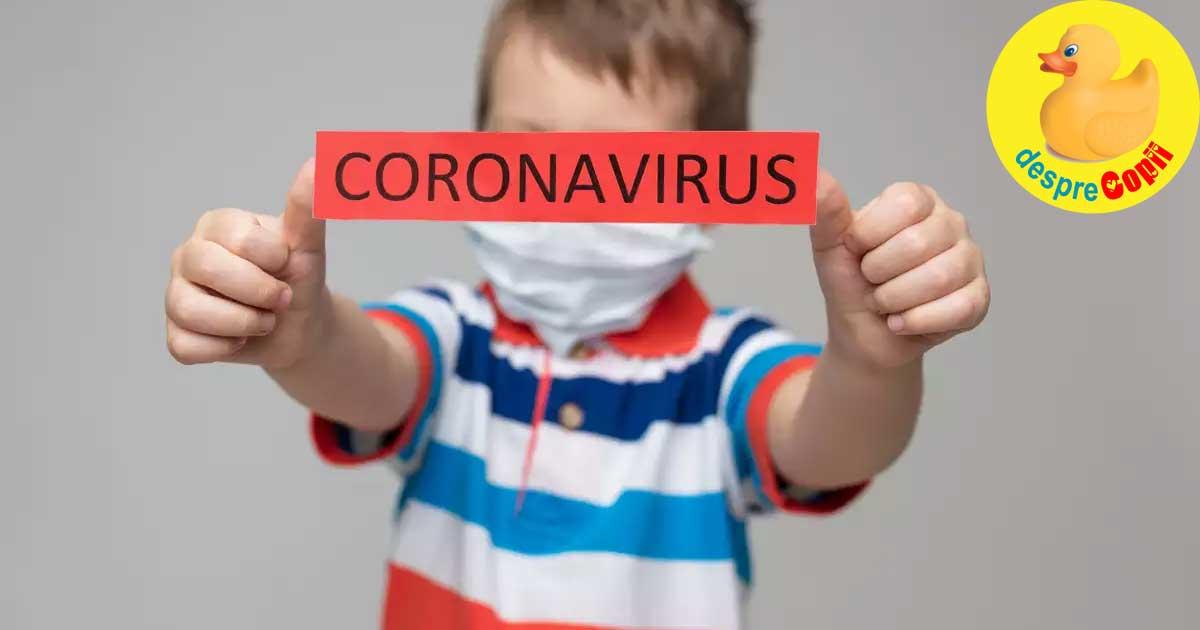 Diaree si greata - ar putea fi primele simptome de infectare cu coronavirus la copii