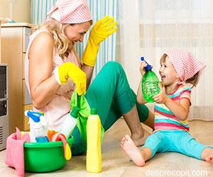 De ce refuza copiii sa se implice in acitivtatile casnice si de ce ar trebui sa o faca