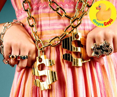 Oare nu crestem o generatie de copii materialisti?