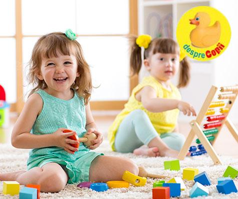 Culori si forme: Abilitati fundamentale pentru copii mici