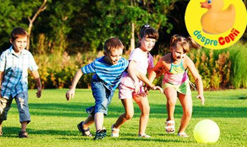 4 lucruri esentiale pe care copiii le invata prin sport