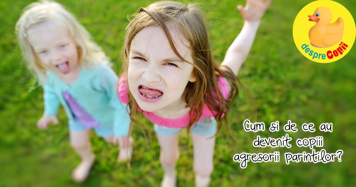 Cand copilul isi hartuieste parintii. Sau cum invatam sa spunem si NU.