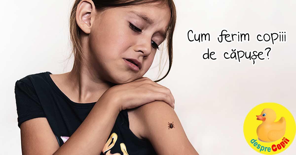 Cum ferim copiii de capuse?