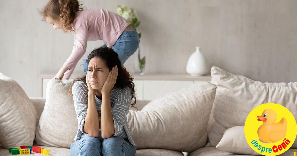 Multi parinti nu stiu inca ce inseamna ADHD si cum afecteaza copilul