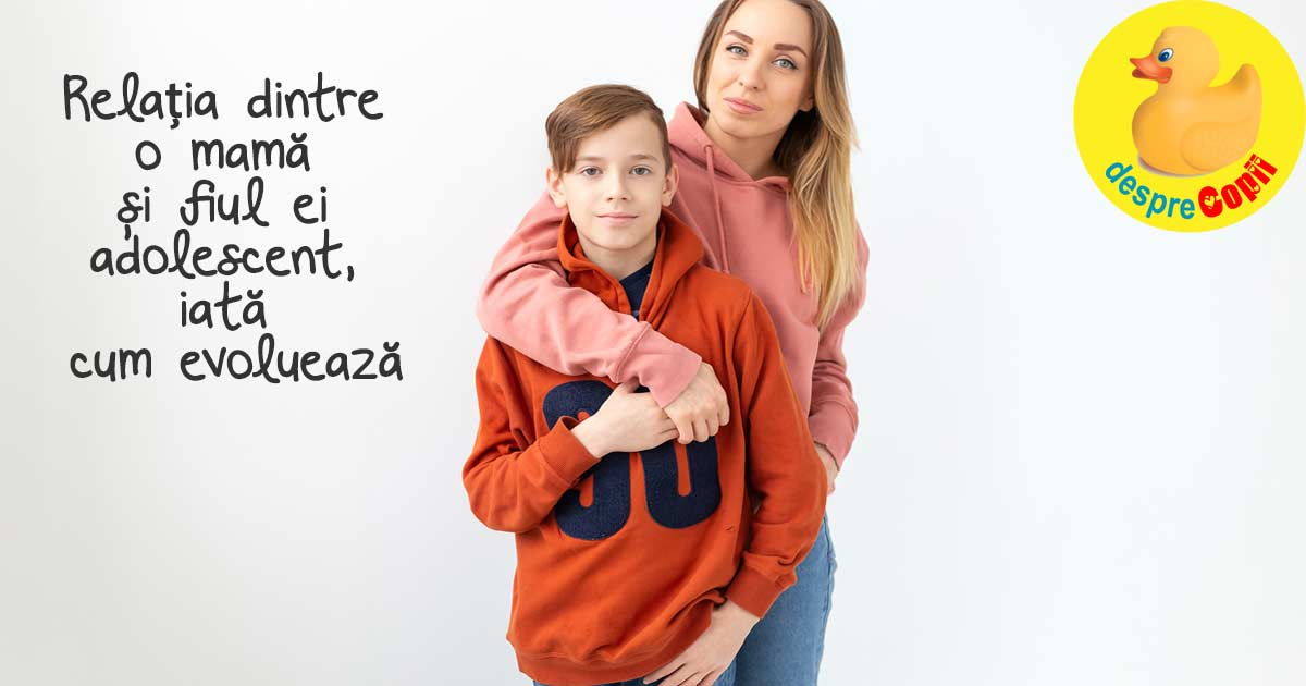 Relatia dintre o mama si fiul ei adolescent - de ce se schimba si cum pastram legatura?