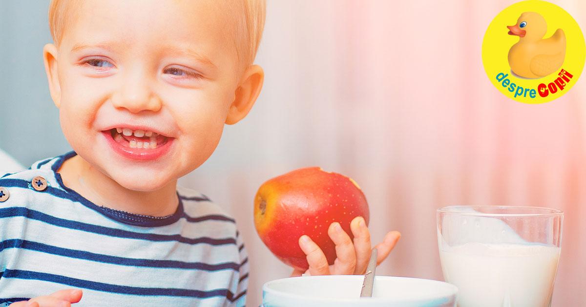 Dezvoltarea cognitiva a copiilor in perioada 0-3 ani: importanta nutrientilor pentru creier