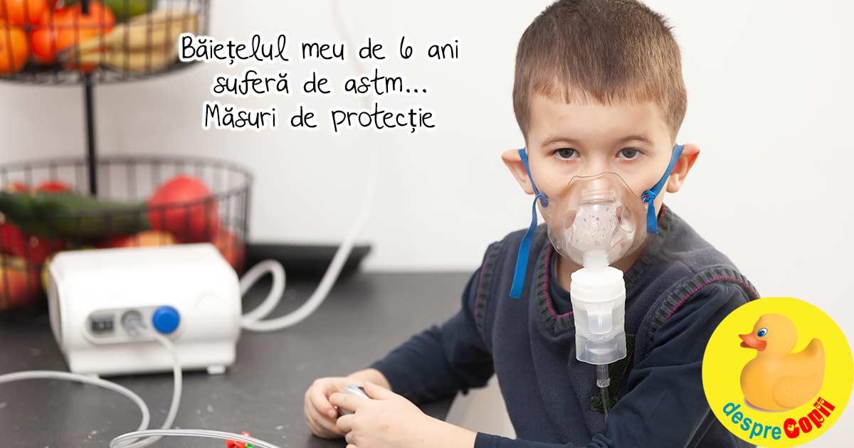 Astmul la copii: covoarele din camera si acarienii