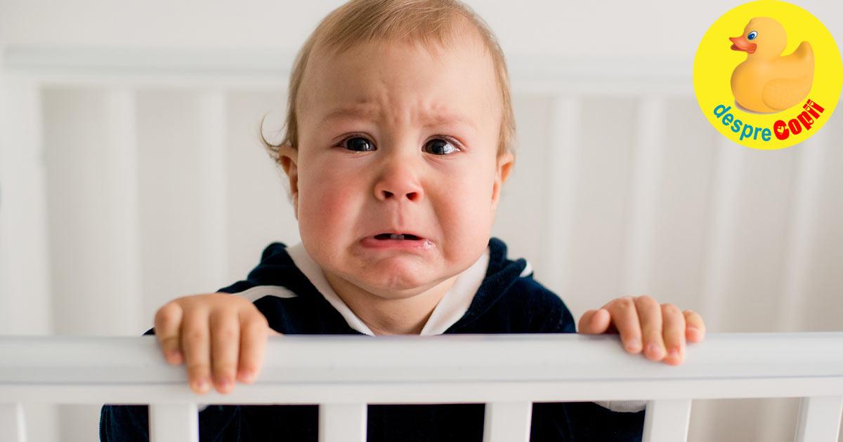 Ce tulbura noptile copilului mic? Motive si nelinisti.