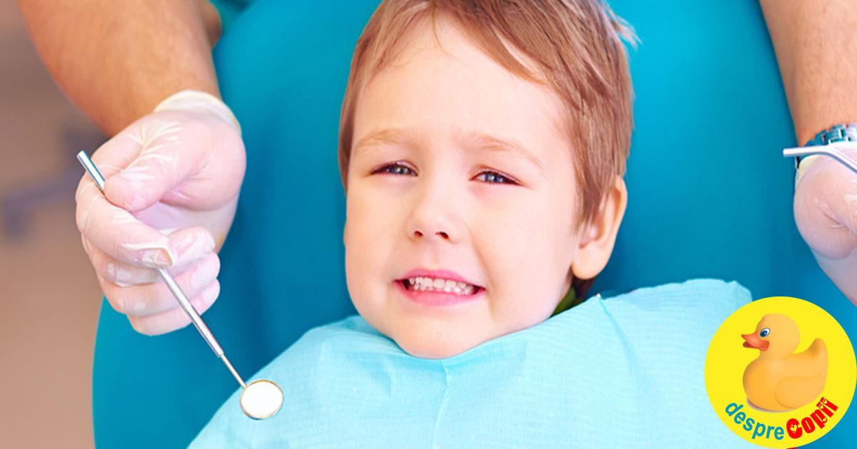 Iata de ce este important sa iti duci de mic copilul la medicul ortodont