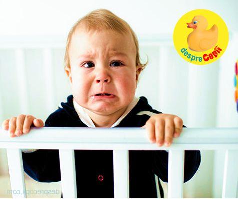 Ce tulbura noptile copilului mic?