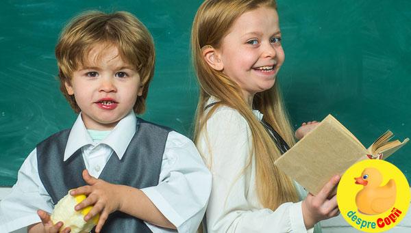 E copilul tau pregatit de scoala din punct de vedere al imunitatii? Iata cum il poti pregati pentru inceperea scolii.