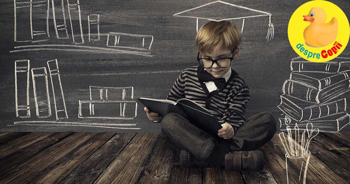 Copilul supradotat: abilitatile si slabiciunile speciale