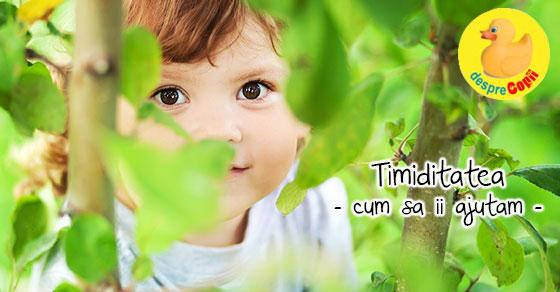 Timiditatea: cum sa ii ajutam pe copiii timizi?