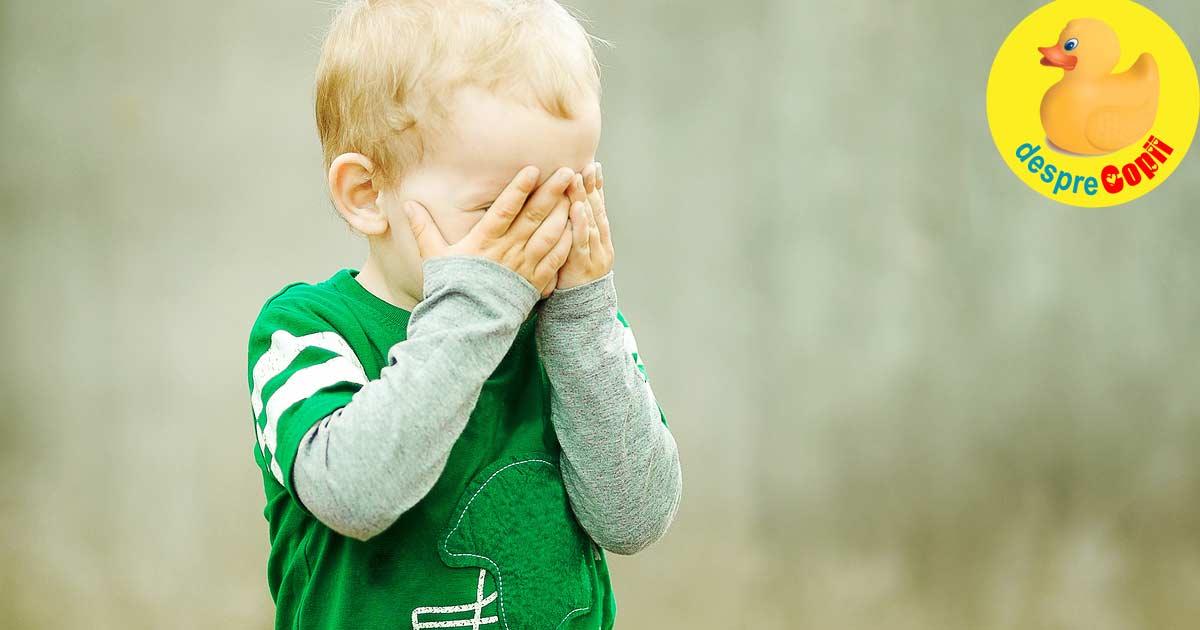 Copilul timid: semne si particularitati - sfatul psihologului