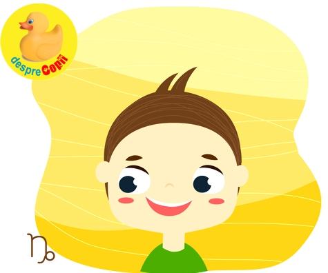 Horoscopul copiilor: Copilul Capricorn