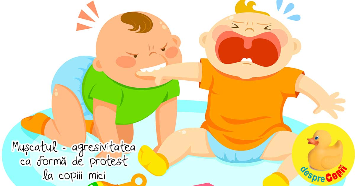 Muscatul - agresivitatea ca forma de protest la copiii mici