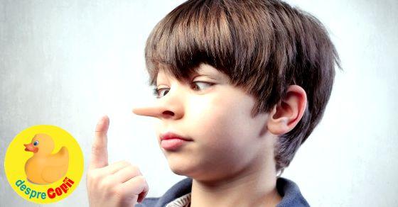 Cand copilul minte: motive, reactie si sfaturi