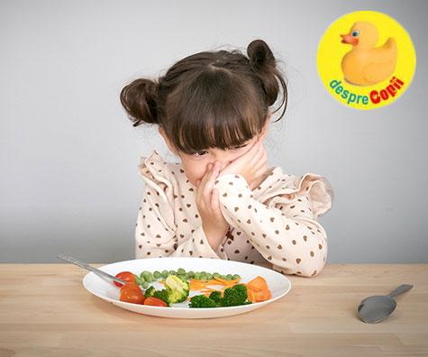 10 motive pentru care copilul tau nu mananca si ce trebuie sa faci