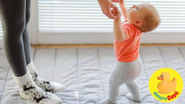 Cand copilul inca nu merge: ce e de facut