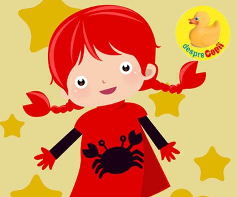 Copilul Rac - Horoscopul copiilor