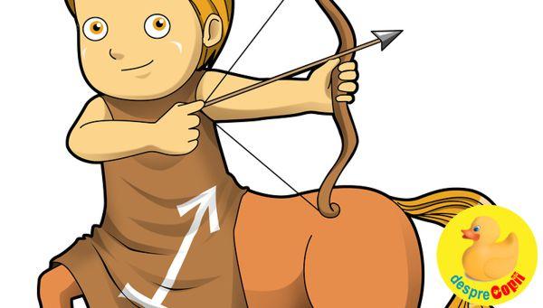 Horoscopul copiilor: Copilul Sagetator