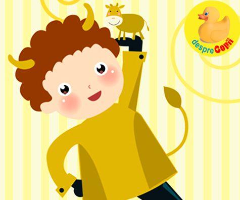 Copilul Taur - horoscopul copiilor