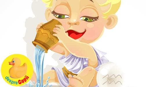 Copilul Varsator - horoscopul copiilor