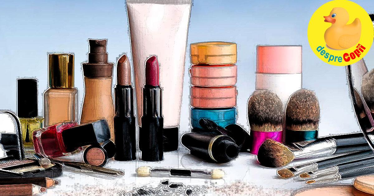 Cosmetice care pot afecta sarcina