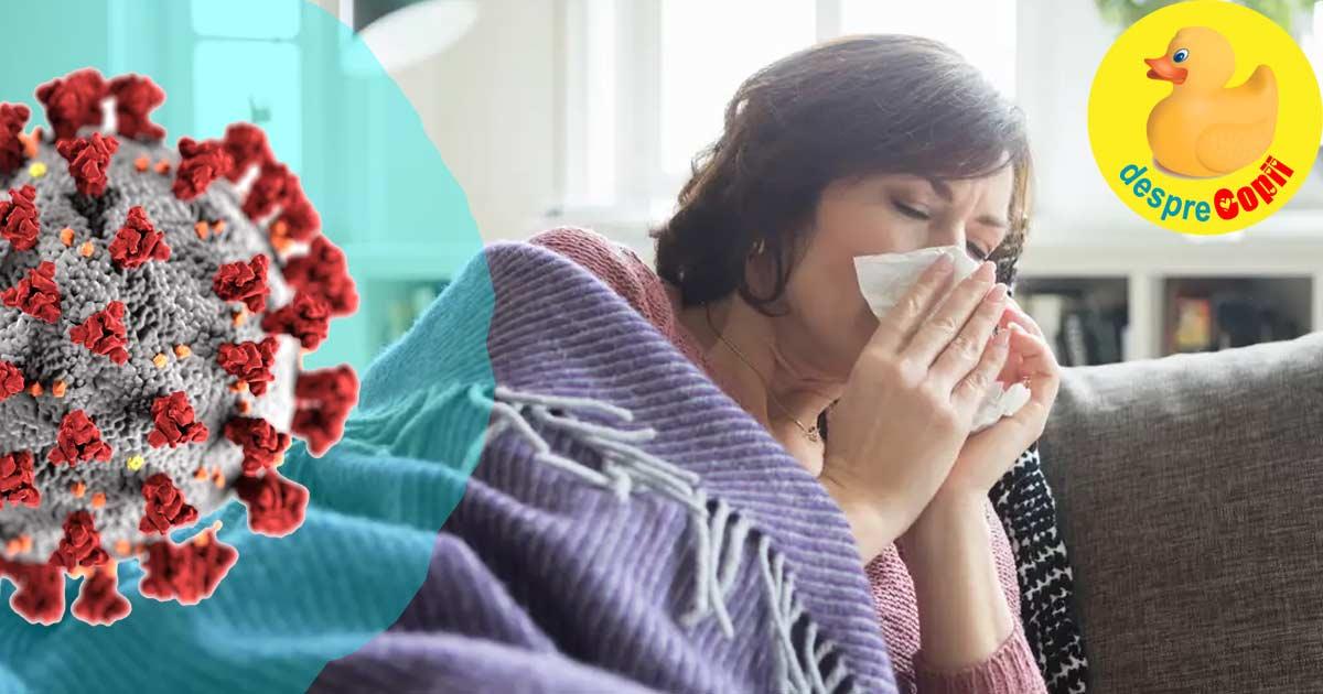 Cum ne tratam acasa daca avem simptome usoare de infectare cu Covid-19 - sfatul medicilor