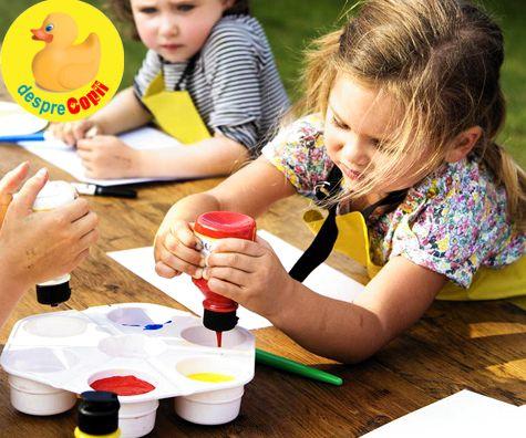 Cum crestem un copil creativ: 10 sugestii de incurajare a gandirii creative
