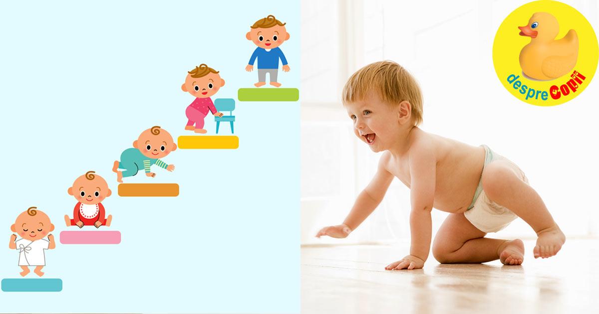 Cresterea si dezvoltarea normala a bebelusului intre 0-12 luni: greutate, cresterea capului, lungime
