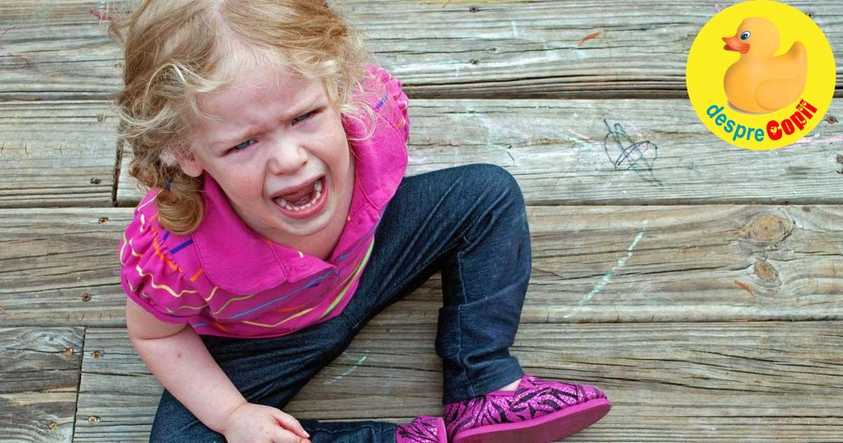 Crizele de isterie ale copilului: motive, situatii si mod de dezamorsare
