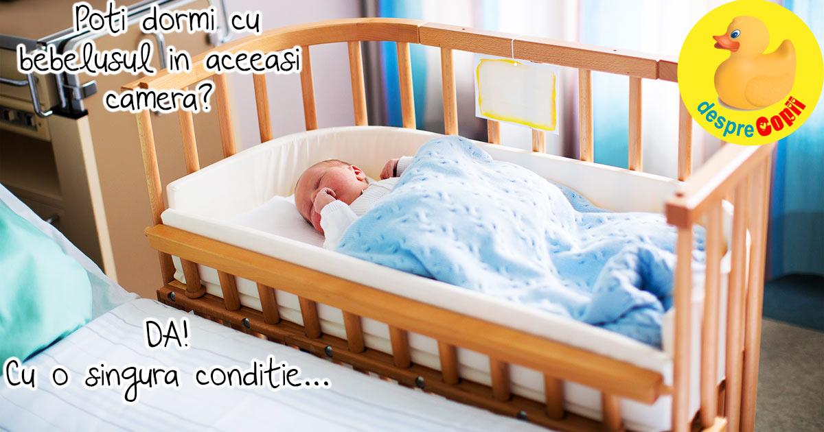 Muta-ti bebelusul in dormitor dar nu in patul tau!