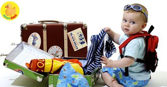 Prima vacanta cu copilul mic - lucruri bine de stiut si sfaturi necesare