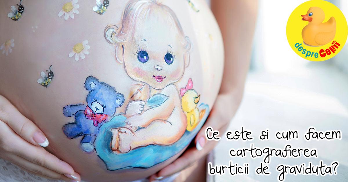 Cum recunosti pozitia bebelusului in burtica - sau cum se face harta burticii tale prin cartografia fetala