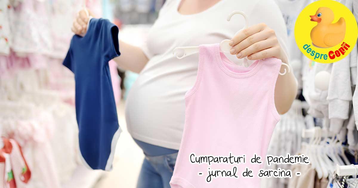 Pregatiri pentru bebe pe pandemie - jurnal de sarcina