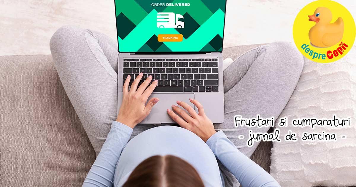 Alte frustrari legate de cumparaturile online pentru bebe - jurnal de sarcina