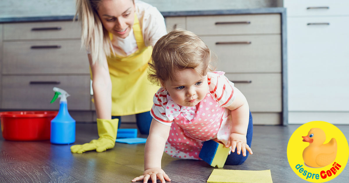 Cum pastram curatenia cand vine bebelusul nou-nascut acasa - reguli si GHID