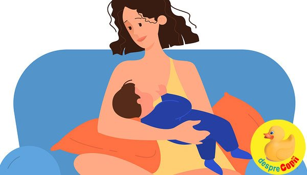 15 curiozitati despre alaptarea bebelusului care merita citite pentru ca este vorba despre sanatatea bebelusului