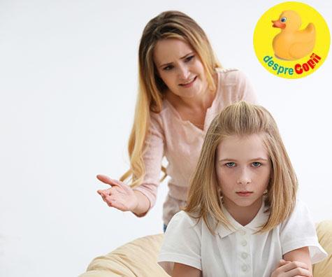 Te urasc!!! - Cand copilul foloseste cuvinte dureroase pentru a obtine ce vrea
