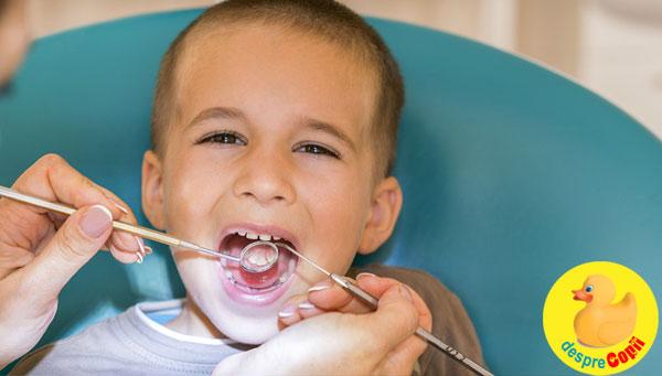 Demineralizarea dentara la copii  - cauze, tratament si prevenire